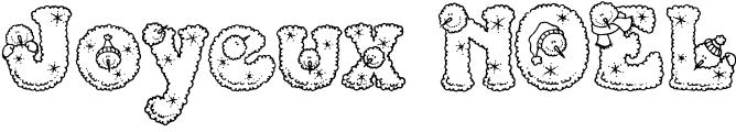 Noël Coloriages de mots, lettres, alphabets, prénoms | Mots à