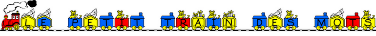 dessin de train editeur de texte police train